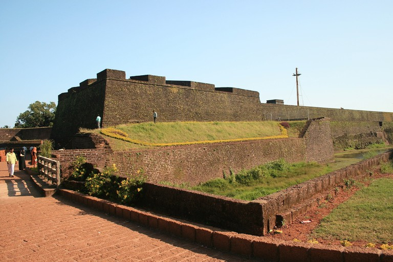St Angelo Fort was built by Dom Francisco de Almeida, the first Portuguese Viceroy of India