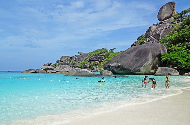 Gorgeous views at Koh Similan, Thailand