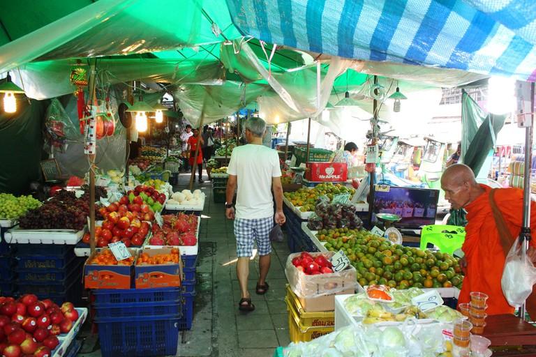 Local market in Thailand