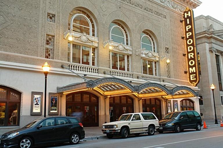 Hippodrome Theatre, Baltimore, Maryland, Exterior