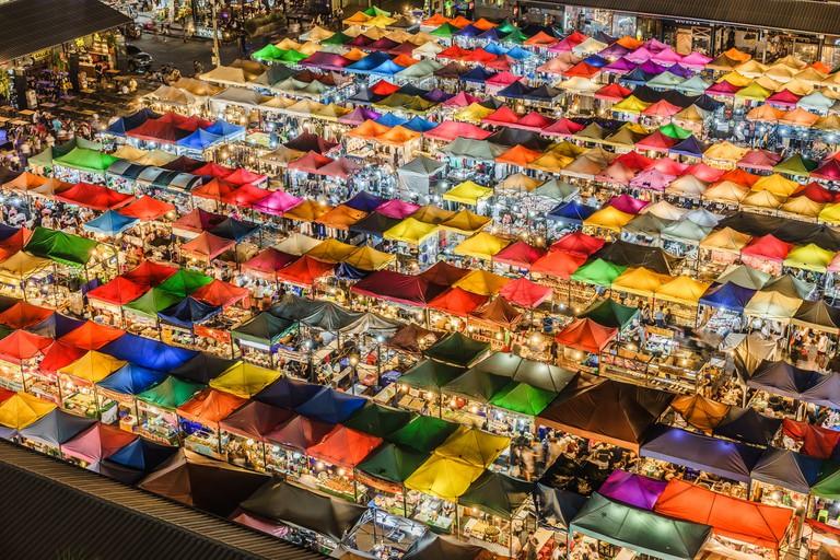 Market in Thailand