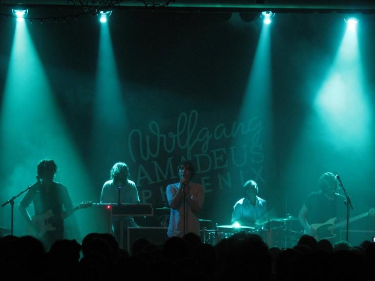Phoenix Performing at the Varsity Theater in Minneapolis | © Chris Sullivan/Flickr