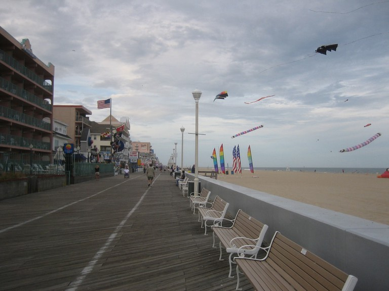 Ocean City Boardwalk | © Rick Wagner/Flickr