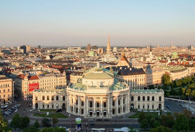 View of the Burgtheater