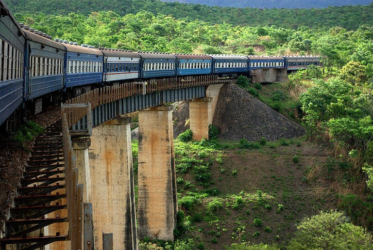 Tazara between Zambia and Tanzania