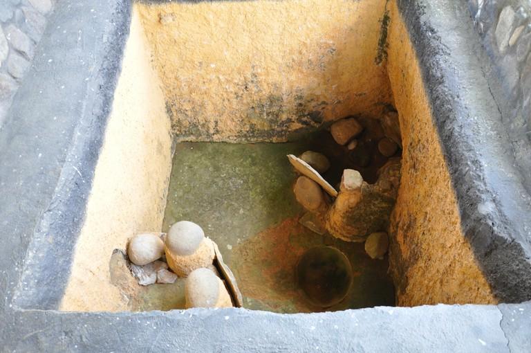 A tomb at El Obando