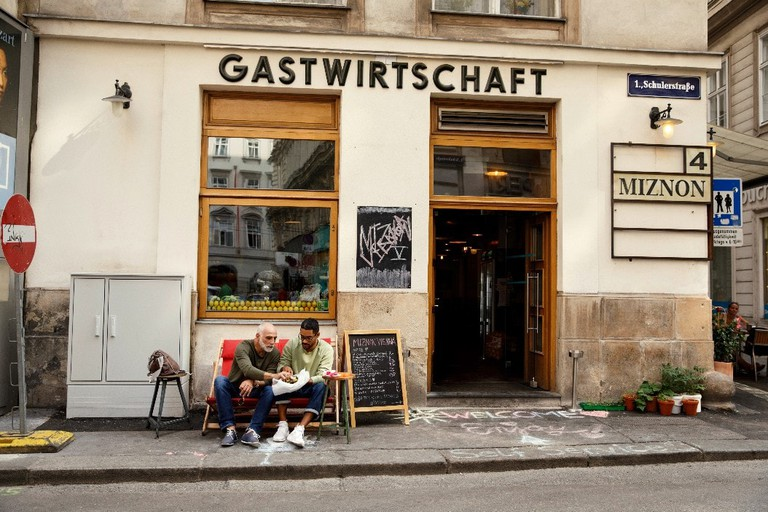Wien, 2017, Restaurant, Miznon, Copyright www.peterrigaud.com