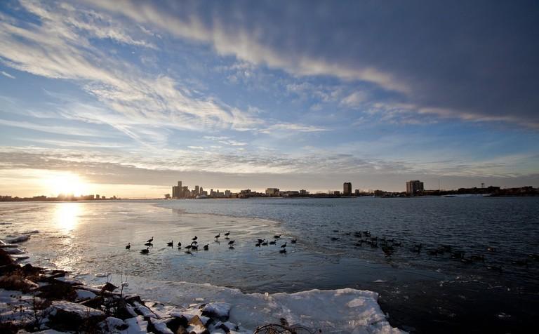 View of Detroit from Belle Isle   © william stuben/Flickr