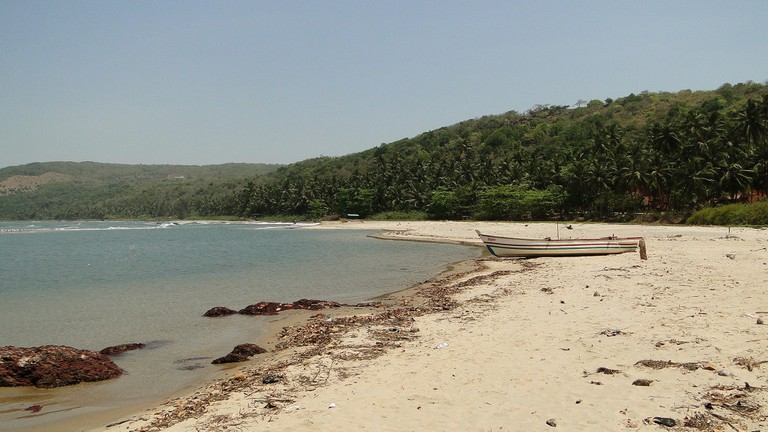 The picturesque Bhogwe Beach is just a short trek away from Parule township