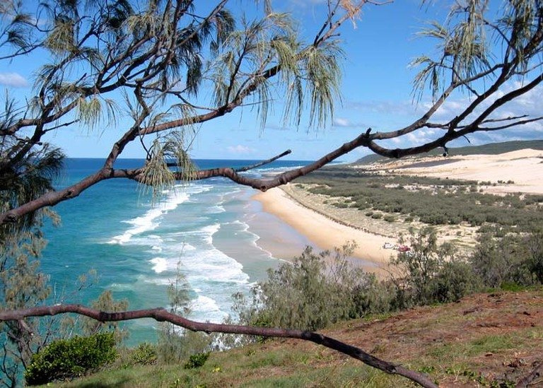 75 Mile Beach on Fraser Island | © Stuart Edwards:Wikimedia Commons