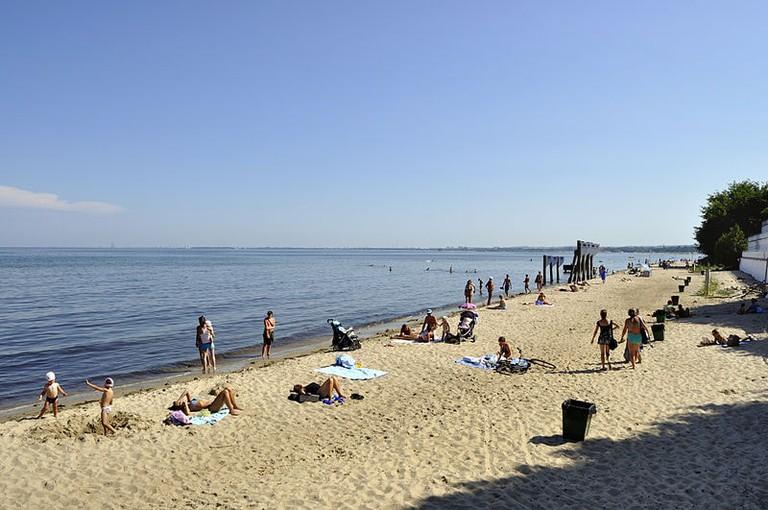 Orłowo beach, Gdynia