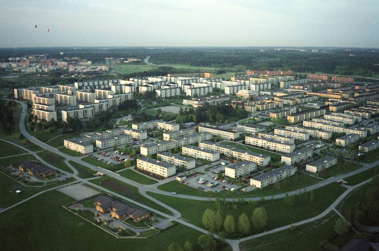 Rinkeby in Stockholm had many million programme homes built