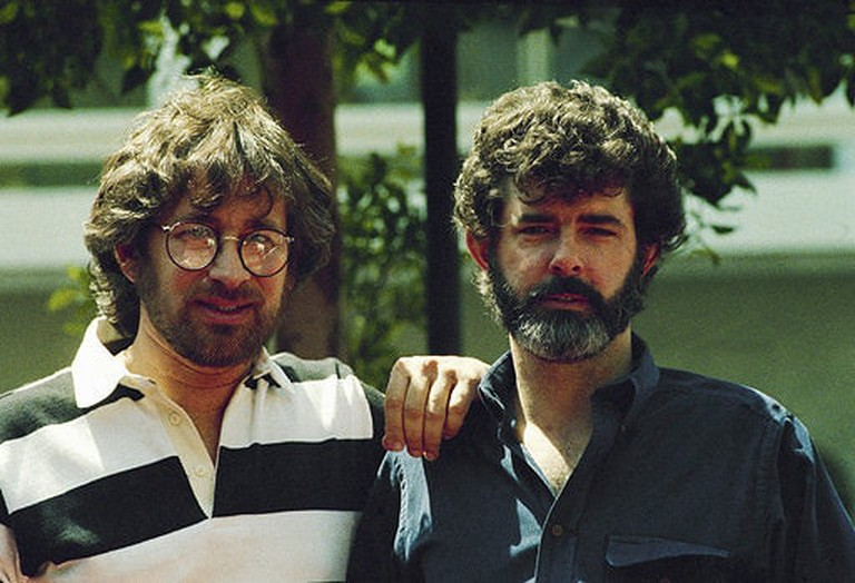 Spielberg and Lucas in 1984 I
