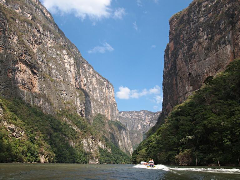 Sumidero Canyon │