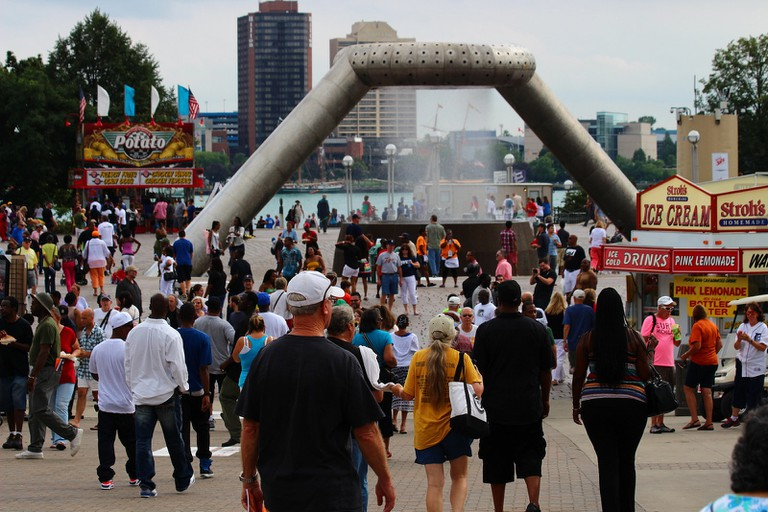 Detroit Jazz Festival crowds | © Jeff Dunn/Flickr