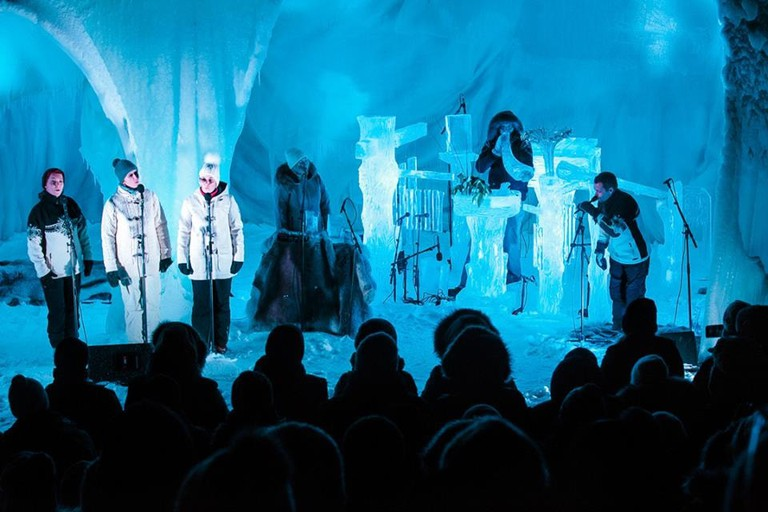 A performance from 2017's Ice Music festival in Geilo   Courtesy of Ice Music Festival