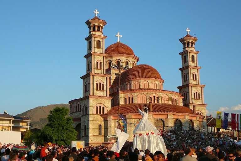 The Orthodox Cathedral of Korça, Albania