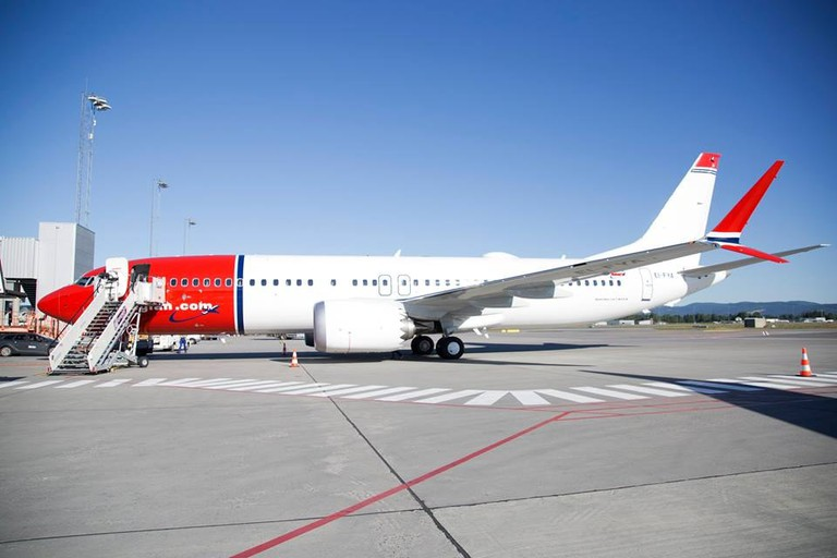 All aboard on an electric flight | Courtesy of Oslo lufthavn Gardermoen