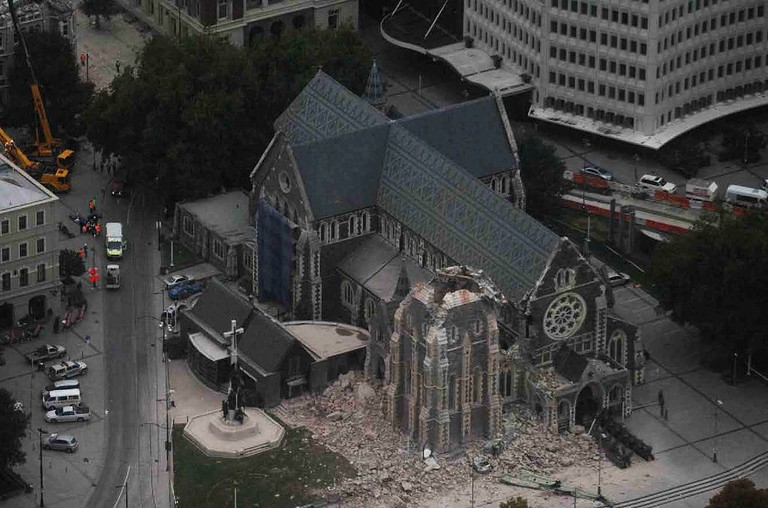 Arial Shot of Christchurch Cathedral | © タチコマ robot / Flickr
