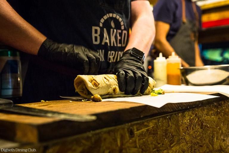 Baked in Brick at Digbeth Dining Club