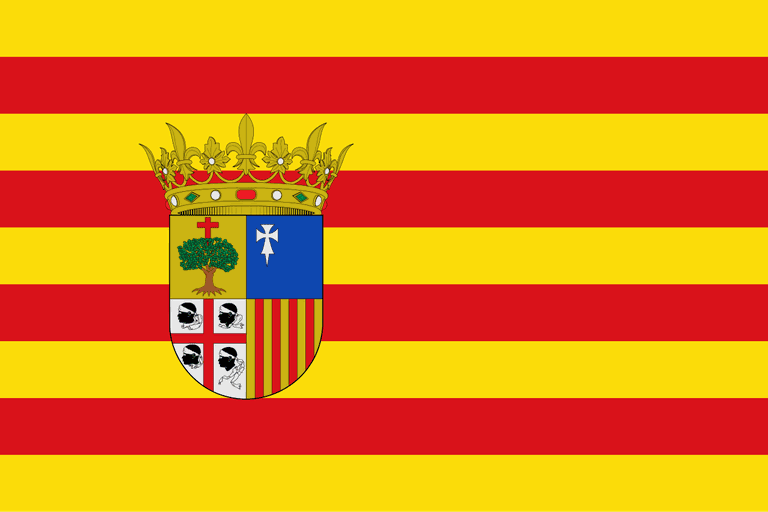 Flag of Aragón, Spain