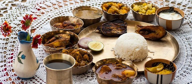 Bengali thali