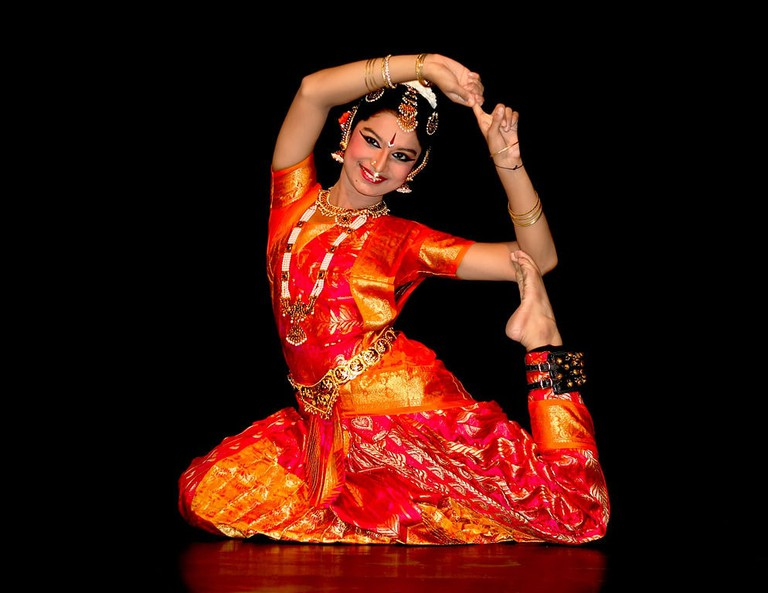 Bharatanatyam is the state dance of Tamil Nadu and one of the most popular Indian traditional dance forms