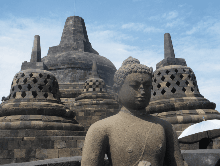 Borobudur, Dutch East Indies / Indonesia