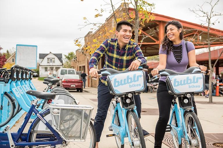 Bublr Bikes Milwaukee | Courtesy of Bublr Bikes