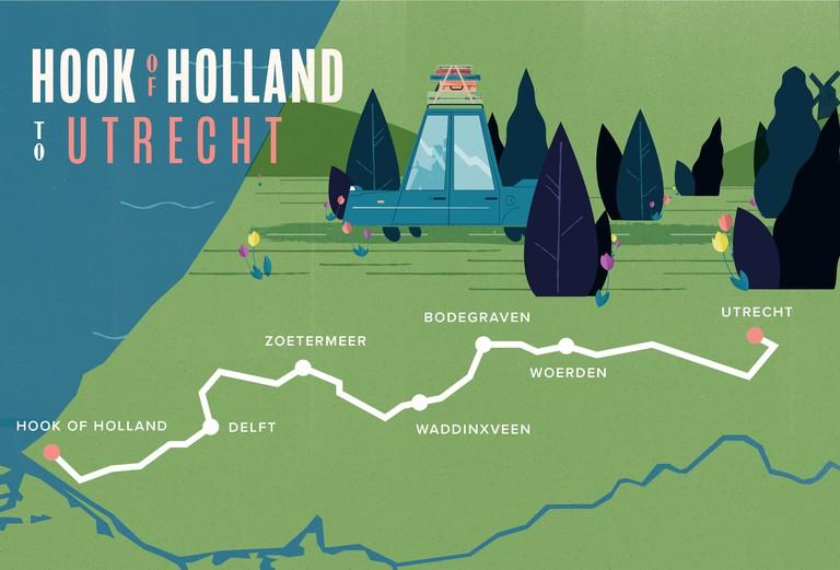 Car Route-01