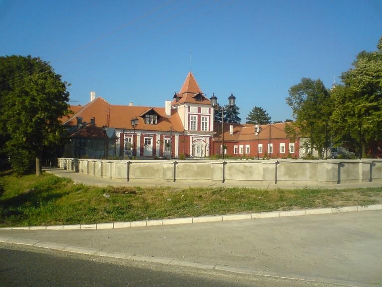 The delightful castle in Ečka