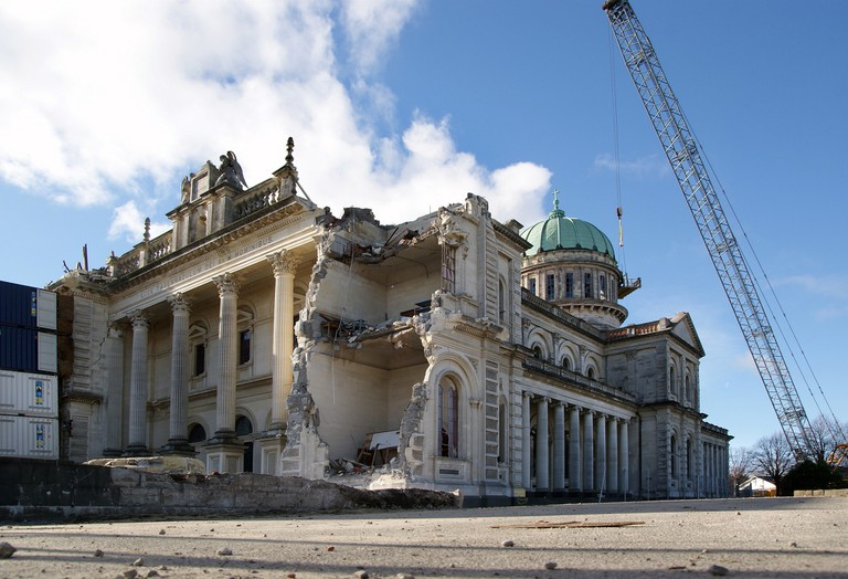 Christchurch Cathedral Damage | © Bernard Spragg. NZ / Flickr