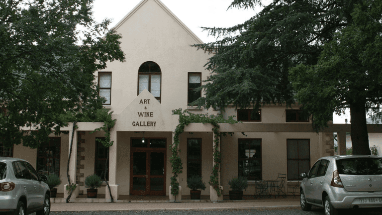 The Art and Wine Gallery on Main in Clarens