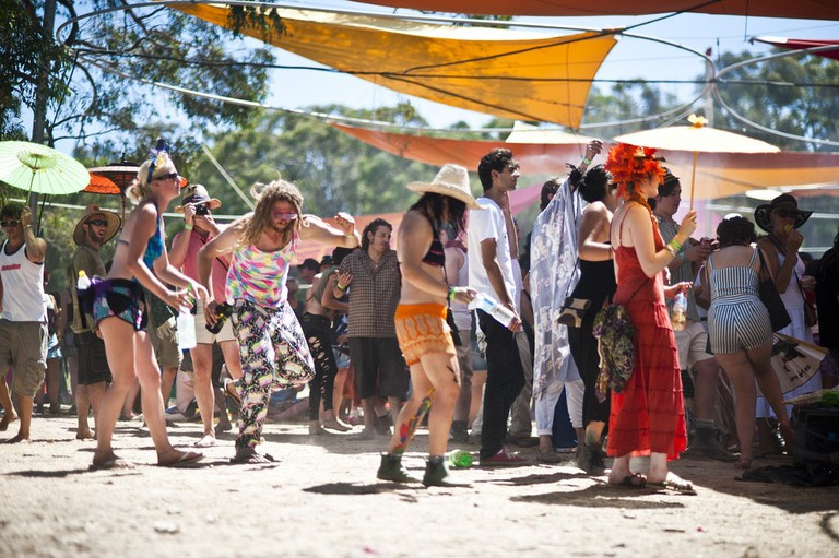 Crowd at Rainbow Serpent | © Francesco Vicenzi:Flickr