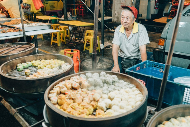 Sample the many types of Dim Sum