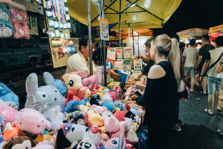 You can probably find almost everything you want in the night market