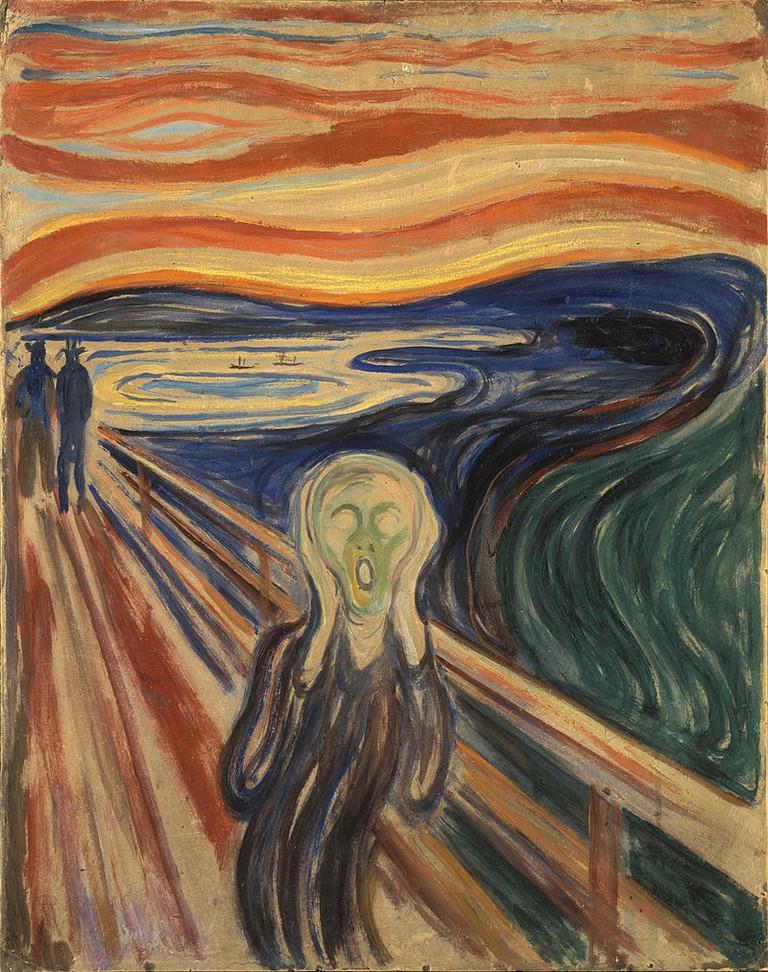 Edvard Munch, The Scream, 1910