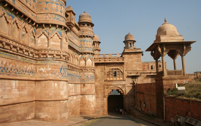 Elephant Gate (Hathi Pul) of Gwalior Fort
