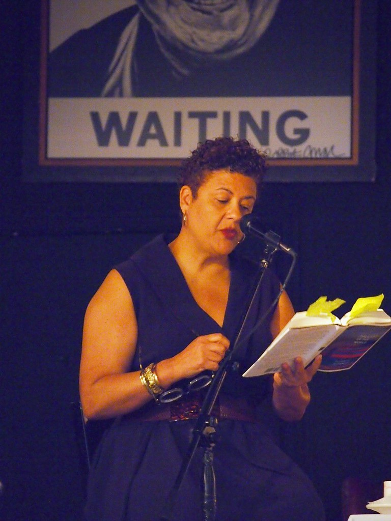 reading at LIGHT OF THE WORLD © Busboys and Poets 14th & V