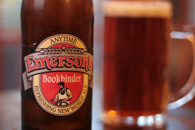 Emerson's Bookbinder | ©baudman / Flickr