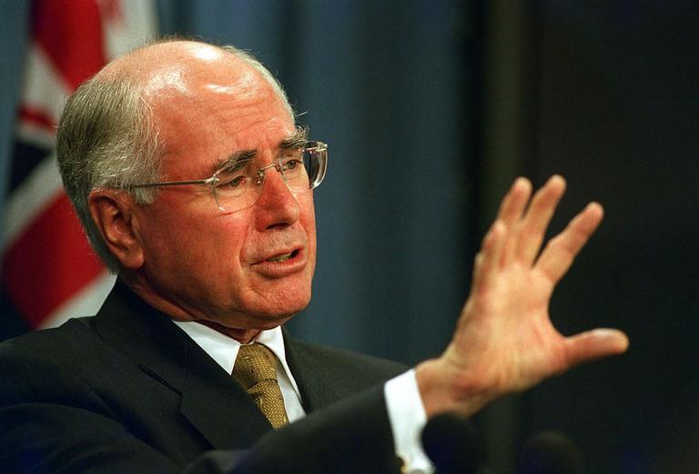 Former Australian Prime Minister John Howard   © R D Ward:Wikimedia Commons