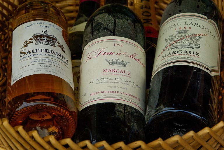 Bordeaux wine is some of the best in the world