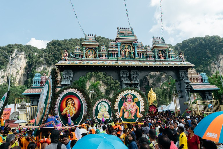 A festival that attracts over one million devotees and tourists each year