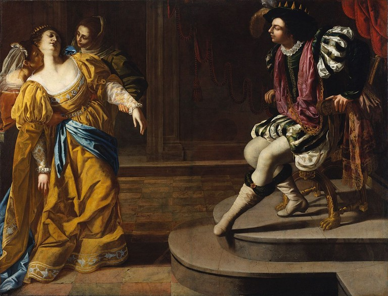 Gentileschi,_Artemisia_-_Esther_before_Ahasuerus_-_c._1628–1635