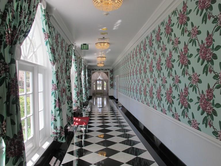 greenbrierhallway
