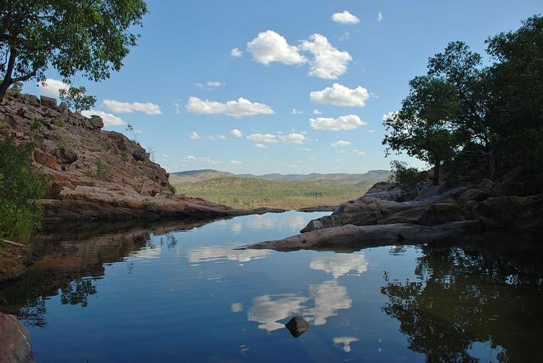 Gunlom Falls, Northern Territory   © Iambexta:Wikimedia Commons