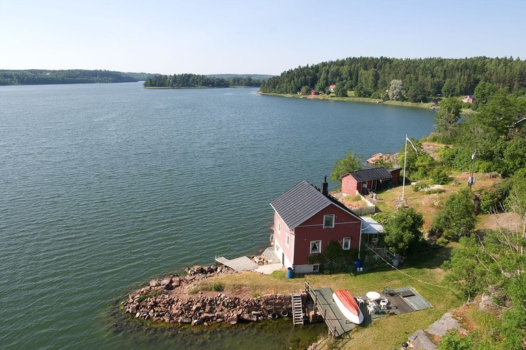 """Thicker than Water"" is set in beautiful Aland"