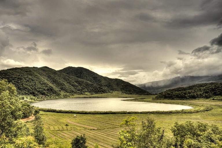 Heart-shaped-Rih-Lake-Chin-State-Myanmar