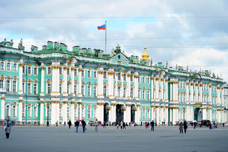Russia's Largest Art Gallery, The Hermitage
