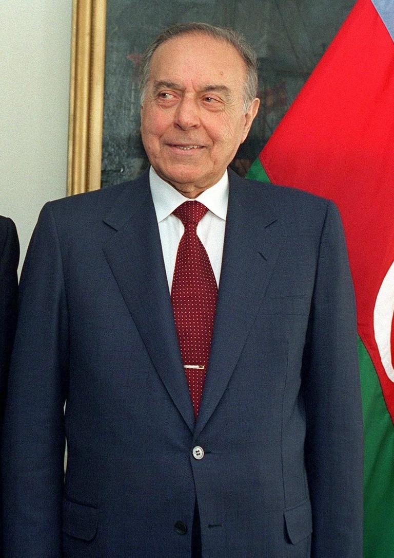 Former President Heydar Aliyev | © Pentagon.gov/WikiCommons